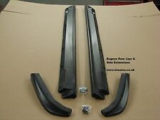 Subaru Impreza BUGEYE STi WRX 2001-02 Side skirt Extensions & Rear Lips. PU