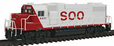"WalthersN-EMD GP38-2 w/88"" Low Nose - Standard DC -- Soo Line #4401 (red letteri"
