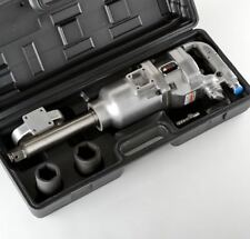 "1"" Air Impact Wrench Gun Long Shank Heavy Duty Commercial Truck Mechanics +CASE"