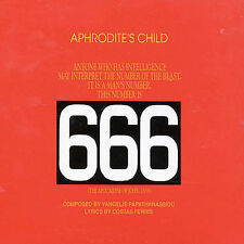 666 by Aphrodite's Child (CD, Jul-1989, Universal/Vertigo)
