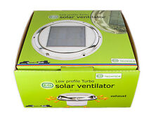 12v DC or Solar POWERED Attic intake/Exhaust Fan Vent Boat,Caravan EG-SVT003DC