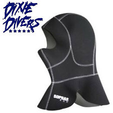 Sopras Sub Long Hood 5mm Neopreme wetsuit cold water Size Small Scuba Diving