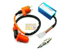 For Honda XR50 CRF50 pit bike 70cc 90cc 110cc CDI + Ignition Coil +spark plug