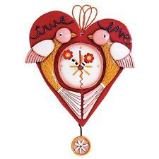 True Love Orologio con pendolo: Allen Design Studios-Arte Orologio Da Parete