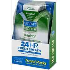 SmartMouth Mouthwash Packets Clean Mint 10 Each