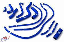 YAMAHA XJ6 2009-2016 HIGH PERFORMANCE SILICONE RADIATOR HOSES BLUE