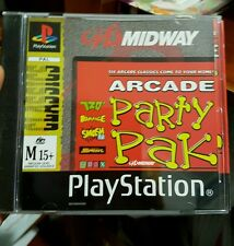 Midway Arcade Party Pak - PS1 SONY PLAYSTATION 1 �� ���� FREE POST