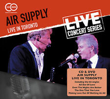 AIR SUPPLY New Sealed 2016 30th ANNIVERSARY LIVE CONCERT DVD & CD SET