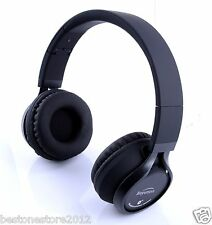Metal Hi-Fi Stereo Bluetooth Headphones headset for All Cell Phone Laptop Tablet