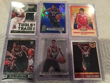 2013-14 Panini Prizm Giannis Antetokounmpo Rc Lot Jersey Spectra Fleer Hoops Wow