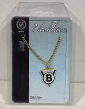 Offical Boston Bruins Logo Chain Necklace Wincraft Inc