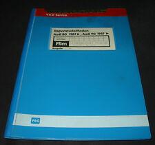 Microfich Audi 80 90 Typ 89 B3 2,0 Einspritz Motor 4 Zylinder 2 Ventiler ab 1987
