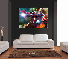 IRON MAN Vector Giant Wall Art Print Picture Poster