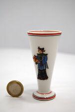 VERRE à LIQUEUR SAKE flute porcelaine décor CHINOIS CITHARE PIPA CHINOISE thé