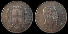 pci738) Regno Vittorio Emanuele II  lire 5 scudo 1871