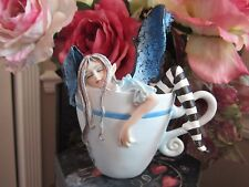 Amy Brown I Need Coffee Fairy Figurine New in Box