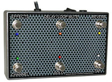 Roland Cube 80XL or Cube 40XL Custom 6 Button Footswitch - by Switch Doctor