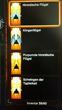 Diablo 3 ros - 4 x wings/AILES + Gold-ps3/ps4