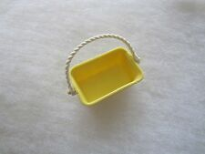 FISHER PRICE Loving Family Dollhouse YELLOW BASKET for FLOWERS PICNIC Camping