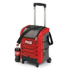 COCA COLA COKE CUSTOM ROLLING COOLER   NEW!!