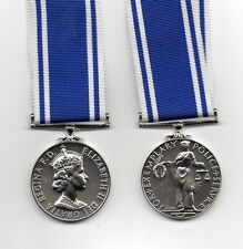 POLICE EXEMPLARY SERVICE MEDAL. E.II.R. A SUPERB QUALITY FULL-SIZE REPLACEMENT