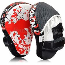 Boxing Kick Punch Pad Mitt Hand Training Target Focus MMA Karate Muay Thai Glove
