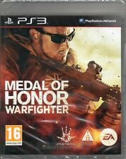 MEDAL OF HONOR: WARFIGHTER (war onore del combattente) GAME PS3 ~ NEW / SEALED