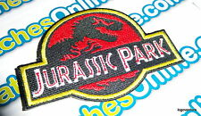 Jurassic Park Uniform Movie Film Cosplay Costume Patch Iron On