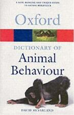 Dictionary of Animal Behaviour (Oxford Paperback Reference)-ExLibrary