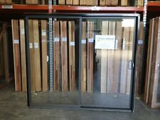 Aluminium Sliding Door 2100h x 2410w Woodland Grey Colour (BRAND NEW IN STOCK)