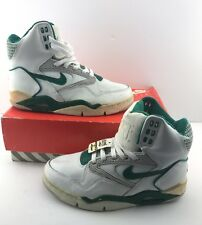 1990 VINTAGE NIKE GREEN AIR FORCE V SIZE 8 ROBINSON OG DS DTRT HIP HOP HIPSTER