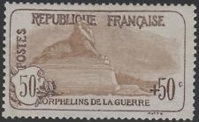"""FRANCE STAMP TIMBRE N°T153 """" ORPHELINS 50c+50c LION DE BELFORT """" NEUFxx TTB J659"""