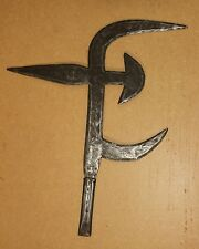 Central African Republic old knife from Bangui MABO afrika kongo couteau de jet
