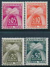 Andorra - Tasas- Año: 1961 - numero 00042/45 - Nuevo valor **