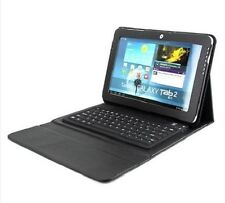 "NEW Custodia tastiera Bluetooth per samsung 10.1"" Galaxy Tab2 P5100 P5110"