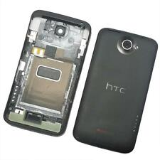 Carcasa Trasera Batería For HTC One X con Volumen Potencia Key Gris