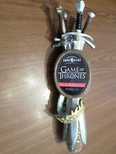 "Excellent Game of Thrones Valar Morghulis Sword Ale 12"" Beer Keg Tap Handle"