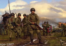 Easy Company 101st Airborne Easy company D-Day photo print #2