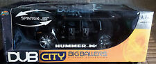 Jada Toys DUB City Big Ballers 1 18 Hummer H2 Black Model Car In Box