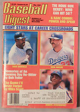 Baseball Digest May 1990 Kirk Gibson Dave Winfield Darryl Strawberry Mets