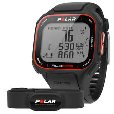 POLAR RC3 + GPS + Heart Rate Monitor HRM + Speed + Altitude Sports Fitness Watch