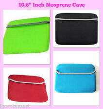 "Color Reversible portátil Tablet Sleeve Bolsa caso Fr 10.1"" 10.2"" 10.6 pulgadas"