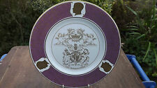 1972 Death of the Duke of Windsor Stunning Coalport China Plate Limited Edition