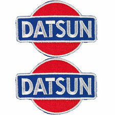 Lot of 2 Datsun Jacket Car Embroidered Iron on Patch
