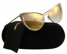 Tom Ford Nastasya Sunglasses TF 0304 28G Shiny Rose (Gold Mirror Lens) 56mm