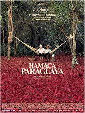 Affiche 40x60cm HAMACA PARAGUAYA (2006) Paz Encina - Ramon Del Rio NEUVE