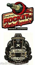 59 King Kerosin Set Auto Repair Aufkleber/Sticker/Rockabilly/Cafe Racer/Chopper