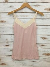 James Perse 1 Pink Tank Top Spaghetti Strap *3219