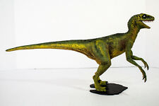 JURASSIC PARK - COMPLETE & PAINTED  - VELOCIRAPTOR model Kit Ready to Display