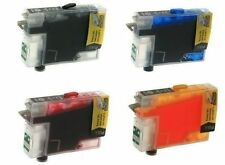 4 Non-OEM Refillable Ink Cartridges For Epson NX125 NX127 NX130 NX230 T125